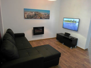 Sofa and3D TV
